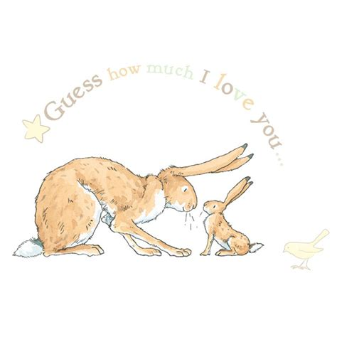 guess how much i you wall stickers guess how much i you nursery wall stickers