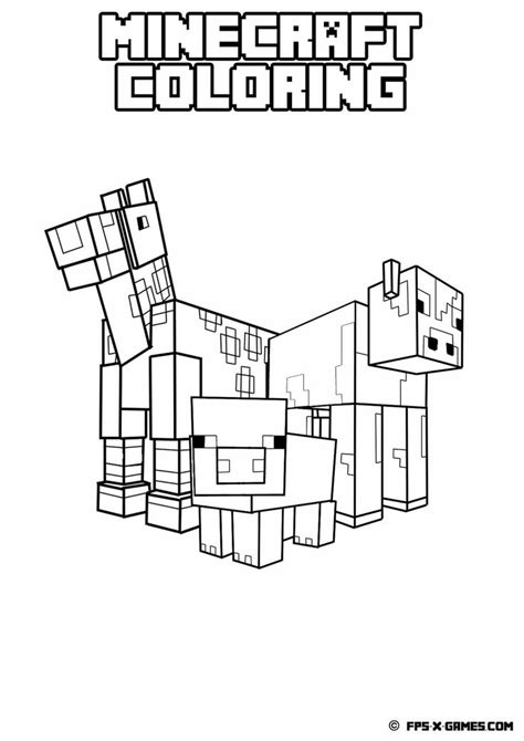 minecraft coloring pages foldable 19 best images about minecraft coloring pages on pinterest
