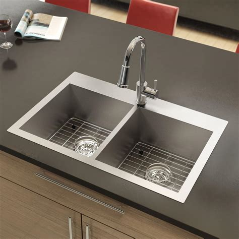Shower Caddy Stainless Steel by Stainless Steel Sink Twin Bowls Square Corners