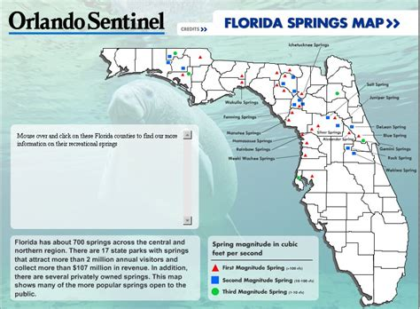 florida springs map florida springs saving our springs