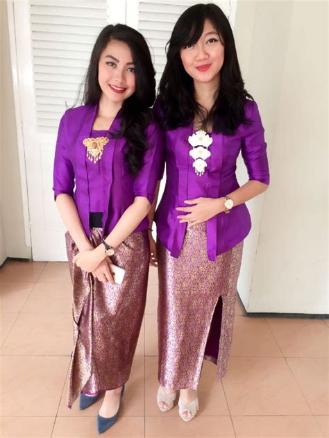 Mini Dress Kebaya Baru kutu baru kebaya design as indonesia traditional dress you can combined also with silver or