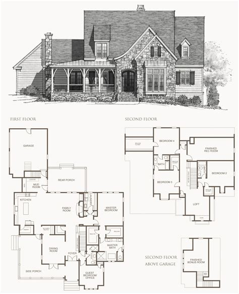 southern homes floor plans southern living house plans picture cottage house plans
