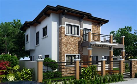 house design of 2016 marcelino model four bedroom house plan amazing