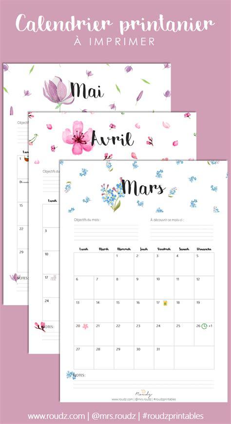 Calendrier 2018 Avec Jours Fériés Belgique Calendrier De Printemps 224 Imprimer Mars Avril Mai 2017