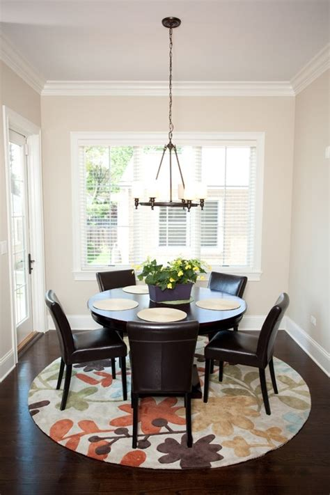 round rugs for dining room 17 best images about round dining tables on pinterest