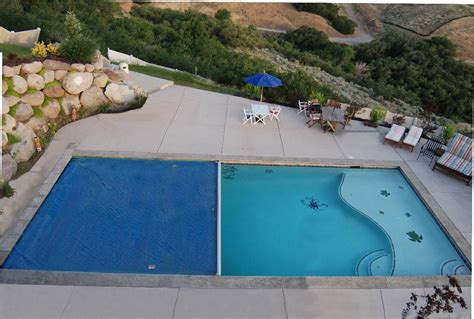Semi Inground Pool with Deep End   Pool   Pinterest   Semi
