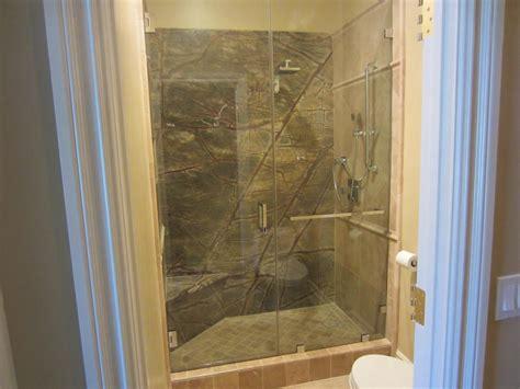 2 Shower Enclosures Custom Notched 1 2 Quot Glass Shower Enclosure La Jolla Ca