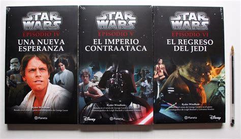 novelas de star wars paquete de 3 libros de star wars nuevos novelas en