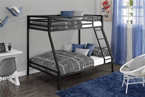 walmart twin over full bunk bed mainstays twin over full metal black bunk bed walmart ca