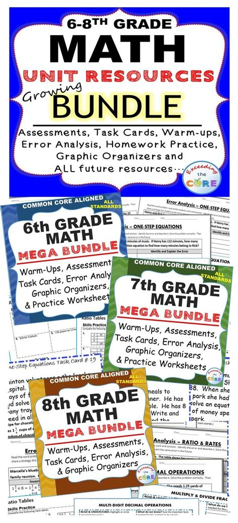 resources for summer packets middle school 7th grade 25027 best teacher s helpers tieplay educational
