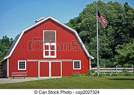 scheune rot rote scheune flag amerikanische hell rot scheune