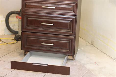secret compartment drawer in toekick stashvault