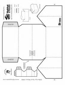 printable paper house template habitat for humanity