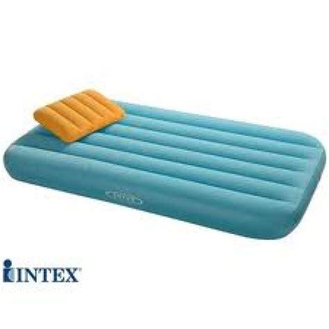 intex inflatable air bed  cozy kids  pump