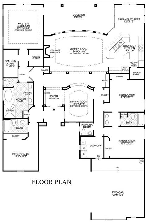 open floor plan house plans one story 1000 ideas about one story homes on great