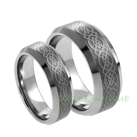 Wedding Bands Couples by Wedding Rings Pictures Couples Tungsten Wedding Rings