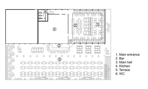 cake shop floor plan gallery of bulka cafe and bakery crosby studios 15