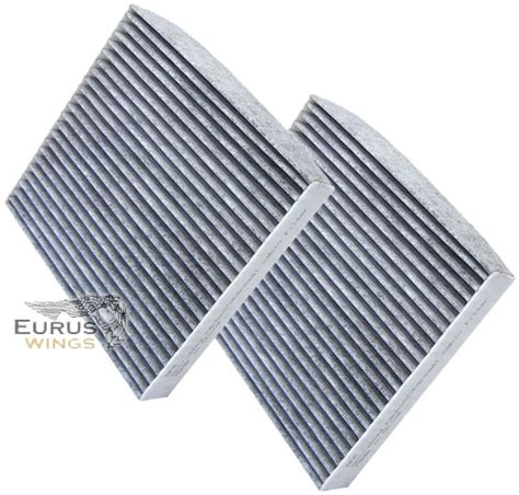 Scion Xb Cabin Air Filter by 2x Hqrp Carbon Cabin Air Filters For Scion Xb Xd Toyota Highlander Land Cruiser