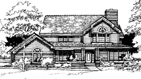 country style floor ls house plans ls b 87130