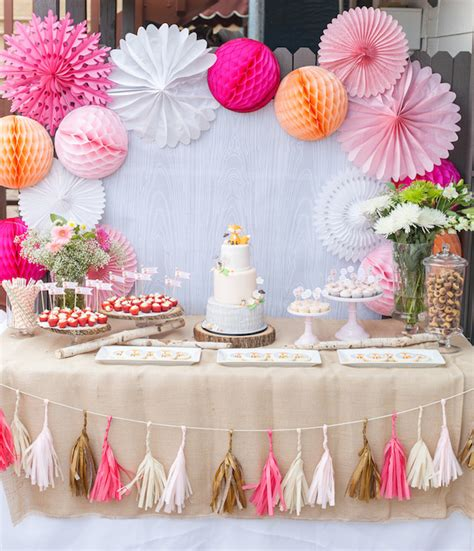 baby shower sweet table diy dessert table baby shower pink baby shower