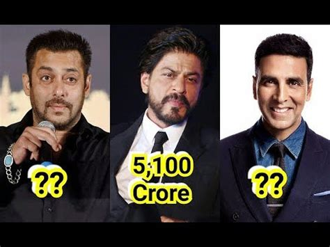 top 10 richest actors 2018 top 10 richest actors 2018 shah rukh salman akshay