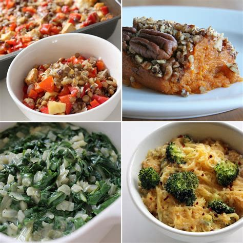 thanksgiving side dishes healthy thanksgiving side dishes popsugar fitness