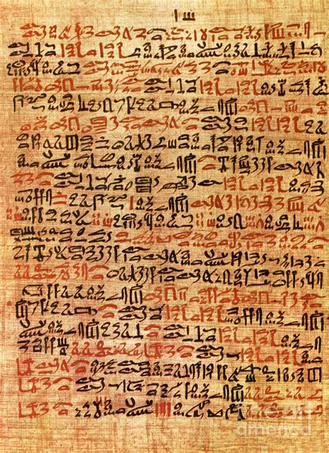ancient ebers papyrus column 61 methods