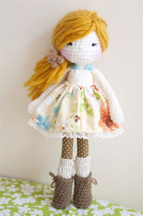 Handmade Rag Doll Patterns - 146 best images about lina dolls on