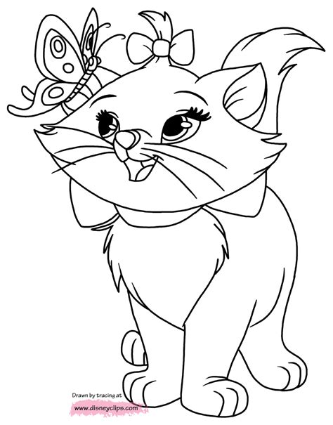 coloring pages aristocats disney the aristocats printable coloring pages 2 disney