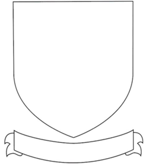 printable coat of arms template the gallery for gt blank family crest printable