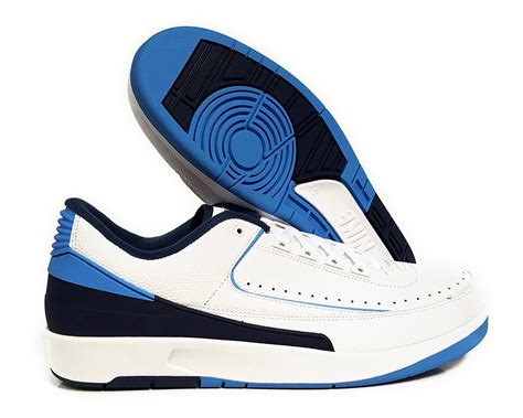 Air 2 Retro Low 832819107 Blue Jumpman Ii Basketball Shoes Oss 832819 107 air 2 retro white blue navy mens sneakers size 10 5 ebay