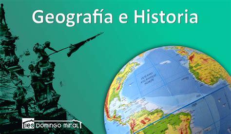 geografa e historia 3 departamento geografia historia ies domingo miral