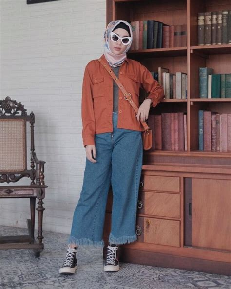 Celana Cutbray Rawis cantik berhijab dengan celana longgar ala aghnia punjabi
