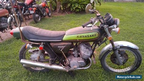 Kawasaki 500 For Sale 1974 kawasaki h1 mach iii 500 for sale in canada