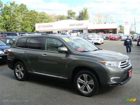 Toyota Green 2011 Toyota Highlander Hybrid Green 200 Interior And