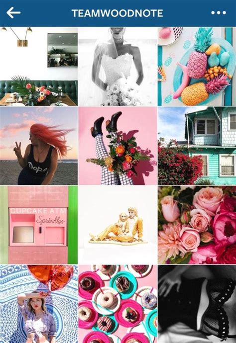 cute themes for instagram 5 amazing instagram feed ideas with bonus tips later com