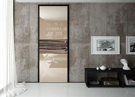 porte blindate vetro foto porta blindata legno vetro di