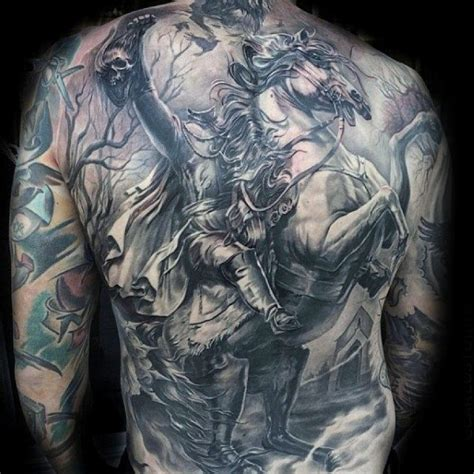 headless horseman in pictures to pin on pinterest tattooskid