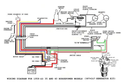evinrude ignition switch diagram 1969 mustang ignition