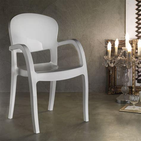 la seggiola sedie sedia la seggiola gemini plastica design con braccioli