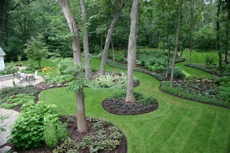 landscape inspiration backyard landscape ideas with natural touch for modern