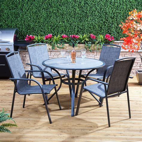 Alfresia Arizona Round Garden Furniture Set   Outdoor