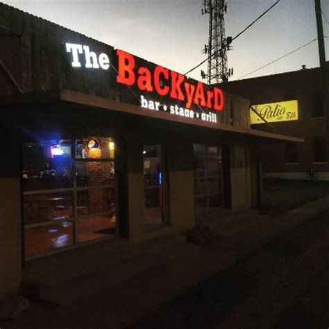 backyard grill restaurant the backyard bar stage and grill waco menu prices