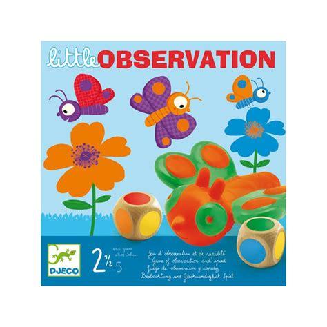 printable observation games little observation game of observation and speed djeco