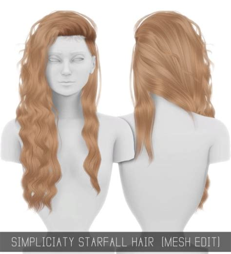 the sims 4 hair cc simpliciaty sims 4 pinterest sims sims cc and ts4 cc
