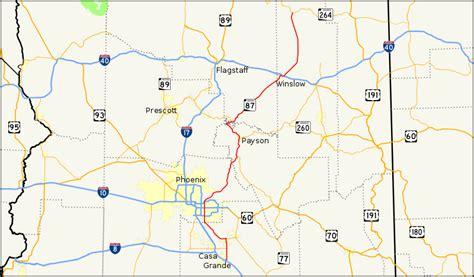 arizona highway conditions map file arizona state route 87 map svg wikimedia commons