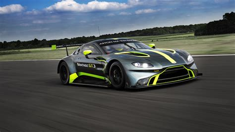 2018 Aston Martin Vantage Gt3 4k Wallpapers Hd