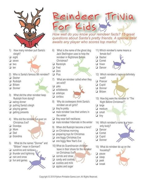 best christmas trivia facts 44 best printable images on printable