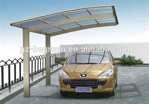 Metal Roof Car Shelter by Polycarbonate Outdoor Car Parking Shelters Plastic Roof