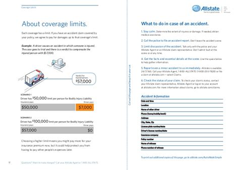 diagram for vehicle insurance insurance brochures auto insurance brochure